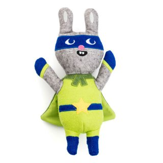<img class='new_mark_img1' src='//img.shop-pro.jp/img/new/icons14.gif' style='border:none;display:inline;margin:0px;padding:0px;width:auto;' />Jump Jax Rabbit Wool Toy (ジャンプ・ジャックス・ラビット・ウール・トイ)