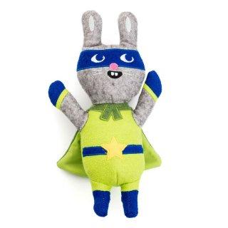 Jump Jax Rabbit Wool Toy (ジャンプ・ジャックス・ラビット・ウール・トイ)