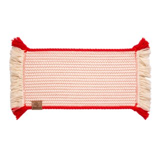 <img class='new_mark_img1' src='//img.shop-pro.jp/img/new/icons14.gif' style='border:none;display:inline;margin:0px;padding:0px;width:auto;' />Cotton Rope Placemat with Red Trim (コットン・ロープ・プレイスマット, レッド)