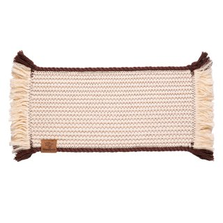 <img class='new_mark_img1' src='https://img.shop-pro.jp/img/new/icons57.gif' style='border:none;display:inline;margin:0px;padding:0px;width:auto;' />Cotton Rope Placemat with Brown Trim (コットン・ロープ・プレイスマット, ブラウン)
