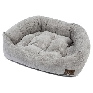 <img class='new_mark_img1' src='https://img.shop-pro.jp/img/new/icons57.gif' style='border:none;display:inline;margin:0px;padding:0px;width:auto;' />Tuscany Ash Velour Napper Dog Bed(トスカニー・アッシュ・ベロア・ナッパー・ベッド)