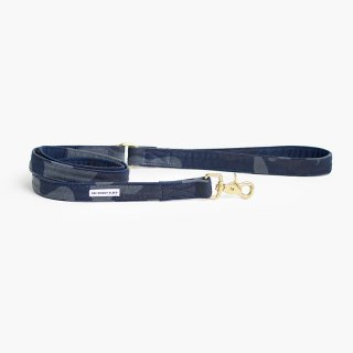 Waxed Cotton Leash, Camo Blue (ワックス・コットン・リーシュ, カモ・ブルー)