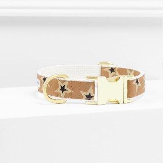 Starstruck Collar,Tawny x Tan x Black (スターストラック・カラー, トー二ィ & タン & ブラック)