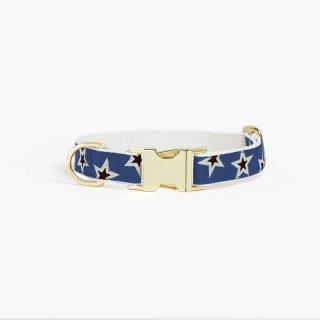 Starstruck Collar,Woad x Cream x Black (スターストラック・カラー, ウォード & クリーム & ブラック)