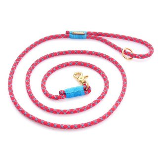 <img class='new_mark_img1' src='//img.shop-pro.jp/img/new/icons14.gif' style='border:none;display:inline;margin:0px;padding:0px;width:auto;' />Double Diamond climbing rope dog leash (ダブル・ダイアモンド・クライミングロープ・ドッグ・リーシュ)