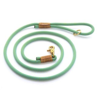 <img class='new_mark_img1' src='//img.shop-pro.jp/img/new/icons14.gif' style='border:none;display:inline;margin:0px;padding:0px;width:auto;' />Spearmint climbing rope dog leash (スペアミント・クライミングロープ・ドッグ・リーシュ)