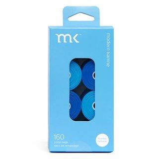 Modern Kanine PoopBags Refill Rolls  / Light & Dark Blue (プープバッグ・レフィル/ライトブルー・ダークブルー) /交換用8ロール(160枚入)