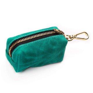 Jade Waxed Canvas Waste Bag Dispenser (ジェイド・ワックスド・キャンバス・ウエィスト・バッグ・ディスペンサー)