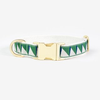 <img class='new_mark_img1' src='https://img.shop-pro.jp/img/new/icons53.gif' style='border:none;display:inline;margin:0px;padding:0px;width:auto;' />Nice Grill Collar,Emerald & Navy & Cream (ナイス・グリル・カラー, エメラルド & ネイビー & クリーム)