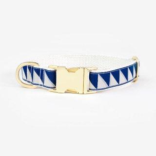 Nice Grill Collar,Navy & Cool Gray & Cream (ナイス・グリル・カラー, ネイビー & クールグレイ & クリーム)