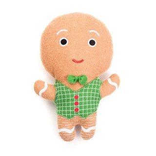 Gingerbread Man Wool Toy (ジンジャーブレッド・マン・ウール・トイ)