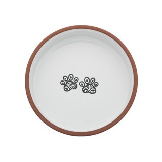 <img class='new_mark_img1' src='https://img.shop-pro.jp/img/new/icons57.gif' style='border:none;display:inline;margin:0px;padding:0px;width:auto;' />Henna Paw Bowl, White, Medium (ヘナ・ポウ・ボウル, ホワイト,ミディアム)