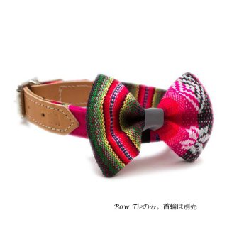<img class='new_mark_img1' src='https://img.shop-pro.jp/img/new/icons57.gif' style='border:none;display:inline;margin:0px;padding:0px;width:auto;' />Inca Pink Dog BowTie  (インカ・ピンク・ドッグ・ボウタイ)