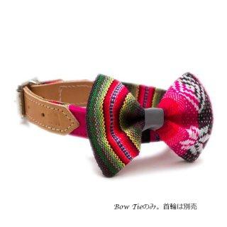 Inca Pink Dog BowTie  (インカ・ピンク・ドッグ・ボウタイ)