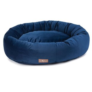 <img class='new_mark_img1' src='https://img.shop-pro.jp/img/new/icons14.gif' style='border:none;display:inline;margin:0px;padding:0px;width:auto;' />Vintage Royale velour Donut Bed(ヴィンテージ・ロイヤル・ベロア・ドーナツ・ベッド)