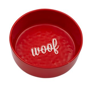 Etched Woof Bowl in Red (エチッド・ウーフ・ボウル・レッド)