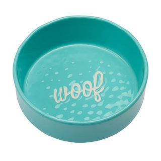 <img class='new_mark_img1' src='https://img.shop-pro.jp/img/new/icons14.gif' style='border:none;display:inline;margin:0px;padding:0px;width:auto;' />Etched Woof Bowl in Aqua (エチッド・ウーフ・ボウル・アクア)