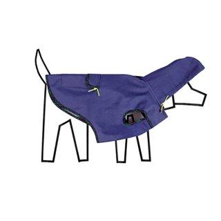 Tartan Plaid Trim Anorak Raincoat, Blue (タータン・プレイド・トリム・アノラック・レインコート, ブルー)