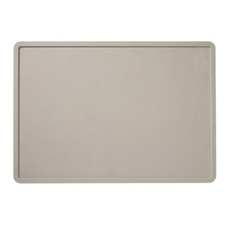<img class='new_mark_img1' src='https://img.shop-pro.jp/img/new/icons14.gif' style='border:none;display:inline;margin:0px;padding:0px;width:auto;' />Silicone Placemat in Light Grey (シリコン・プレイスマット・ライトグレー)