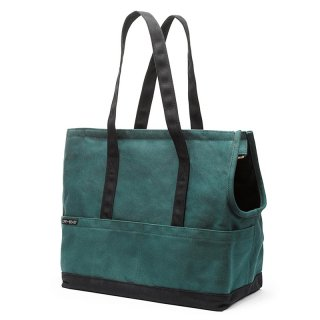 <img class='new_mark_img1' src='https://img.shop-pro.jp/img/new/icons14.gif' style='border:none;display:inline;margin:0px;padding:0px;width:auto;' />Canvas Pet Tote Fern & Black (キャンバス・ペット・トート ,ファーン&ブラック)