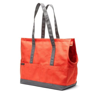 <img class='new_mark_img1' src='https://img.shop-pro.jp/img/new/icons14.gif' style='border:none;display:inline;margin:0px;padding:0px;width:auto;' />Canvas Pet Tote Fire Orange & Grey (キャンバス・ペット・トート ,オレンジ&グレー)