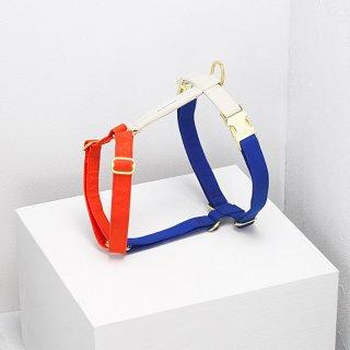 The Scot Harness, Royal Blue, Visual Orange and Cream (ザ・スコット・ハーネス, ロイヤルブルー/ヴィジュアル オレンジ/クリーム)