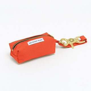 <img class='new_mark_img1' src='https://img.shop-pro.jp/img/new/icons14.gif' style='border:none;display:inline;margin:0px;padding:0px;width:auto;' />The Scot Pooch Pouch, Visual Orange (ザ・スコット・プープポーチ, ヴィジュアルオレンジ)