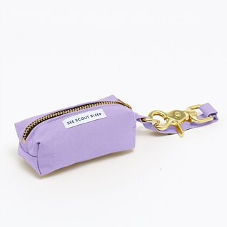 <img class='new_mark_img1' src='https://img.shop-pro.jp/img/new/icons14.gif' style='border:none;display:inline;margin:0px;padding:0px;width:auto;' />The Scot Pooch Pouch, Lilac (ザ・スコット・プープポーチ, ライラック)