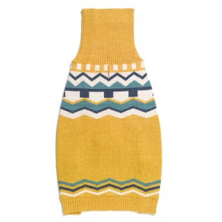 <img class='new_mark_img1' src='https://img.shop-pro.jp/img/new/icons14.gif' style='border:none;display:inline;margin:0px;padding:0px;width:auto;' />Golden Fair Isle Merino Wool Knit Sweater (ゴールデン・フェア・アイル・メリノウール・ニットセーター)