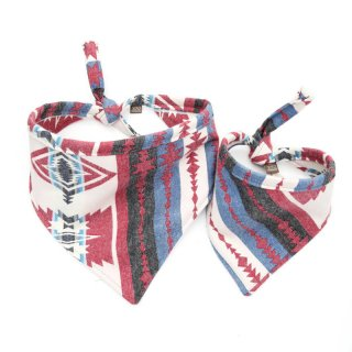 <img class='new_mark_img1' src='https://img.shop-pro.jp/img/new/icons14.gif' style='border:none;display:inline;margin:0px;padding:0px;width:auto;' />Taos Pimento Flannel Dog Bandanas (タオス・ピメント・フランネル・ドッグ・バンダナ)