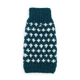 <img class='new_mark_img1' src='https://img.shop-pro.jp/img/new/icons14.gif' style='border:none;display:inline;margin:0px;padding:0px;width:auto;' />Cross Knit Sweater Teal (クロス・ニットセーターティール)
