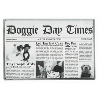 Doggie Day Times Placemat (ドッグ・デイ・タイムズ・プレイスマット)