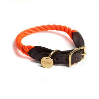 <img class='new_mark_img1' src='//img.shop-pro.jp/img/new/icons34.gif' style='border:none;display:inline;margin:0px;padding:0px;width:auto;' />Orange Rope Rescue Cat & Dog Collar (オレンジ・ロープ・レスキュー・キャット & ドッグ・カラー)