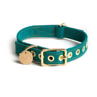 Girl Scout Green Canvas Dog Collar (ガール・スカウト・グリーン・キャンバス・ドッグ・カラー)