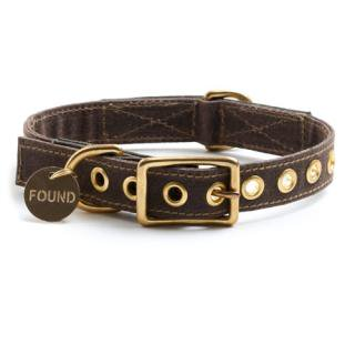 <img class='new_mark_img1' src='//img.shop-pro.jp/img/new/icons34.gif' style='border:none;display:inline;margin:0px;padding:0px;width:auto;' />Brown Canvas Dog Collar (ブラウン・キャンバス・ドッグ・カラー)