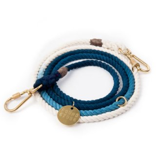 <img class='new_mark_img1' src='//img.shop-pro.jp/img/new/icons39.gif' style='border:none;display:inline;margin:0px;padding:0px;width:auto;' />Indigo Ombre Rope Dog Leash, Adjustable (インディゴ・オンブレ・ロープ・ドッグ・リーシュ, アジャスタブル)