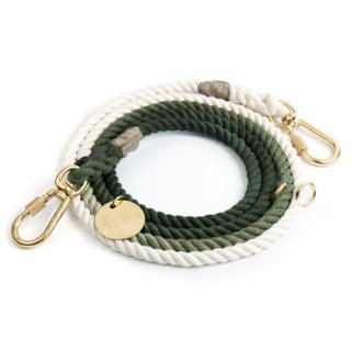 <img class='new_mark_img1' src='//img.shop-pro.jp/img/new/icons39.gif' style='border:none;display:inline;margin:0px;padding:0px;width:auto;' />Olive Ombre Rope Dog Leash, Adjustable (オリーブ・オンブレ・ロープ・ドッグ・リーシュ, アジャスタブル)