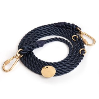<img class='new_mark_img1' src='//img.shop-pro.jp/img/new/icons51.gif' style='border:none;display:inline;margin:0px;padding:0px;width:auto;' />Navy Rope Dog Leash, Adjustable (ネイビー・ロープ・ドッグ・リーシュ, アジャスタブル)
