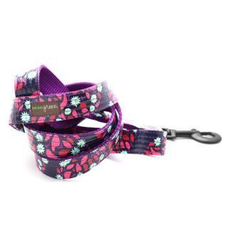 Jasmine Laminated Cotton Dog Leash (ジャスミン・ラミネート・コットン・ドッグ・リーシュ)