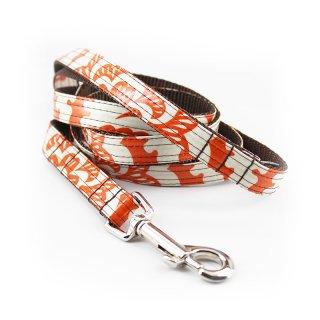 Marigold Laminated Cotton Dog Leash (マリーゴールド・ラミネート・コットン・ドッグ・リーシュ)