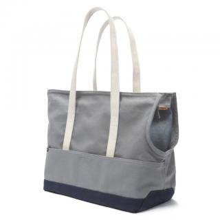 <img class='new_mark_img1' src='https://img.shop-pro.jp/img/new/icons57.gif' style='border:none;display:inline;margin:0px;padding:0px;width:auto;' />Canvas Pet Tote Grey & Navy (キャンバス・ペット・トート ,グレイ&ネイビー)
