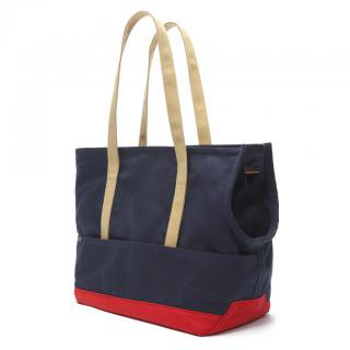 <img class='new_mark_img1' src='https://img.shop-pro.jp/img/new/icons57.gif' style='border:none;display:inline;margin:0px;padding:0px;width:auto;' />Canvas Pet Tote Navy & Red (キャンバス・ペット・トート ,ネイビー&レッド)