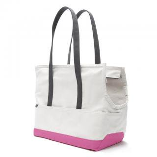 Canvas Pet Tote Natural & Pink (キャンバス・ペット・トート ,ナチュラル&ピンク)