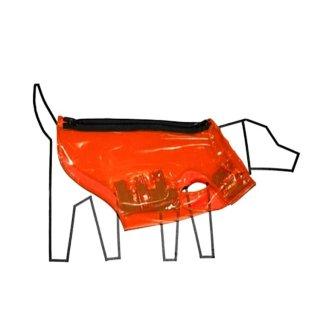 Vinyl Raincoat ,Safety Orange (ビニル・レインコート, セーフティ・オレンジ)