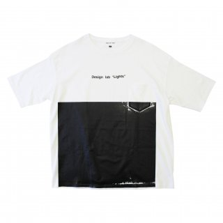 LOGO WALL TEE(WHITE)