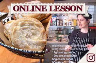 【オンラインレッスン】ウイーンの渦巻きビスケット Viennese Whirls - Online Lesson