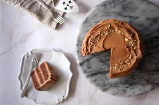 【お菓子の通販】Praline chocolate cake プラリネチョコレートケーキ 15cmのホールケーキ(2月12日から発送OK)