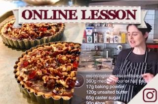 【オンラインレッスン】エクルフェカンタルト Ecclefechan tart - Online Lesson