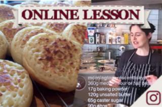 【オンラインレッスン】クランペット Crumpets! - Online Lesson