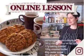 【オンラインレッスン】コーニッシュフェアリング&オーツミールビスケット Cornish fairings & oatmeal biscuits - Online Lesson